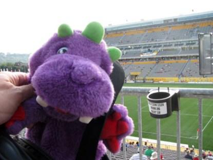 George at the Stadium