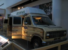 Terry Fox's Marathon of Hope Van
