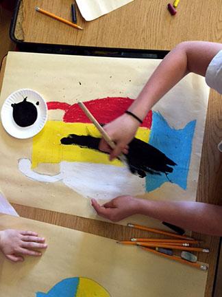 Painting the Greek vase