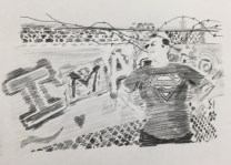 Stage 3 - value (carbon paper rubbing)