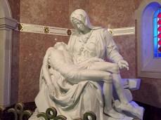 Basilica of Sainte-Anne-de-Beaupré: copy of Michelangelo's Pietà
