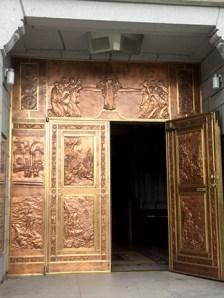 Basilica of Sainte-Anne-de-Beaupré: Main door