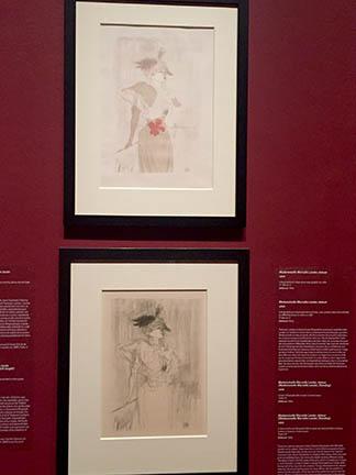 Toulouse-Lautrec Exhibit