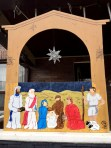 The Finished Nativity Scene