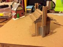 Québec Building Cardboard Stage