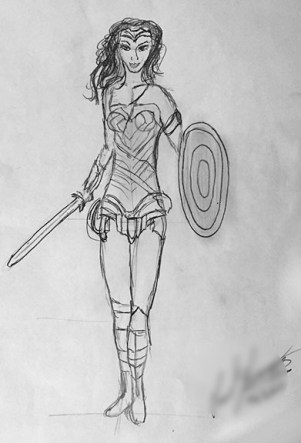 Wonder Woman Version 1