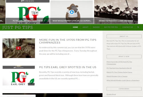 Just PG Tips