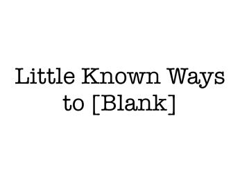 20 Blog Post Cliches That Work.007