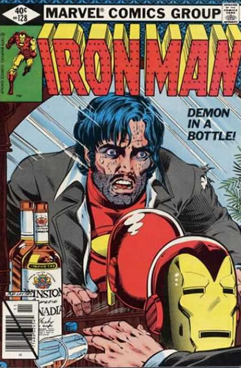 demon in a bottle iron man