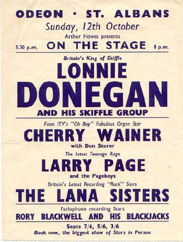 Image result for lonnie donegan posters