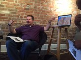 Paul Hammons teaching at a midweek Bible study