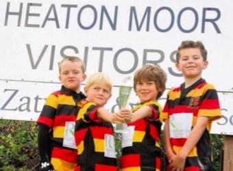 Heaton Moor Rugby Club wins national award