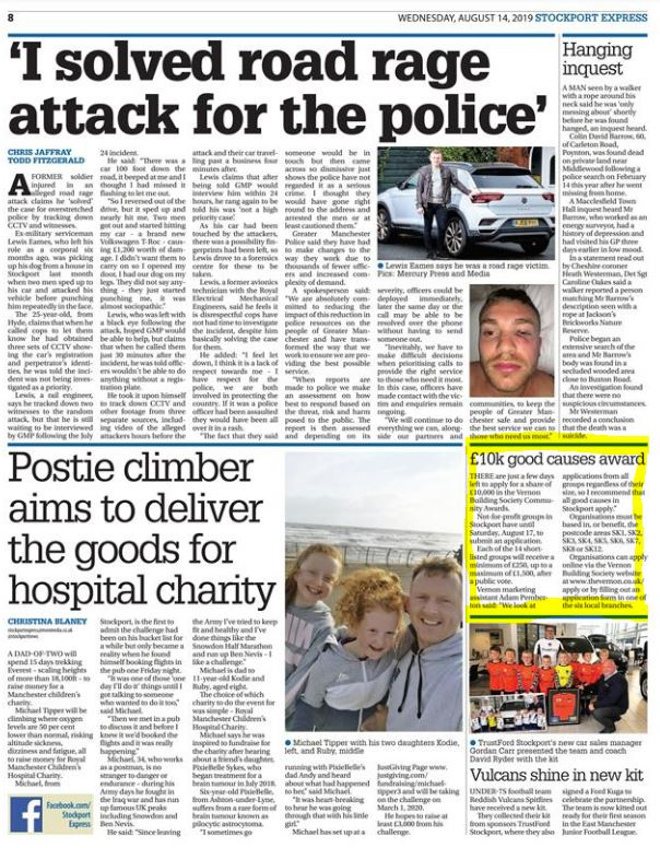 Stockport Express (August 14th, 2019)