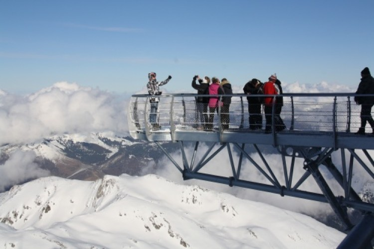 The Pontoon in the Sly at Pic du Midi