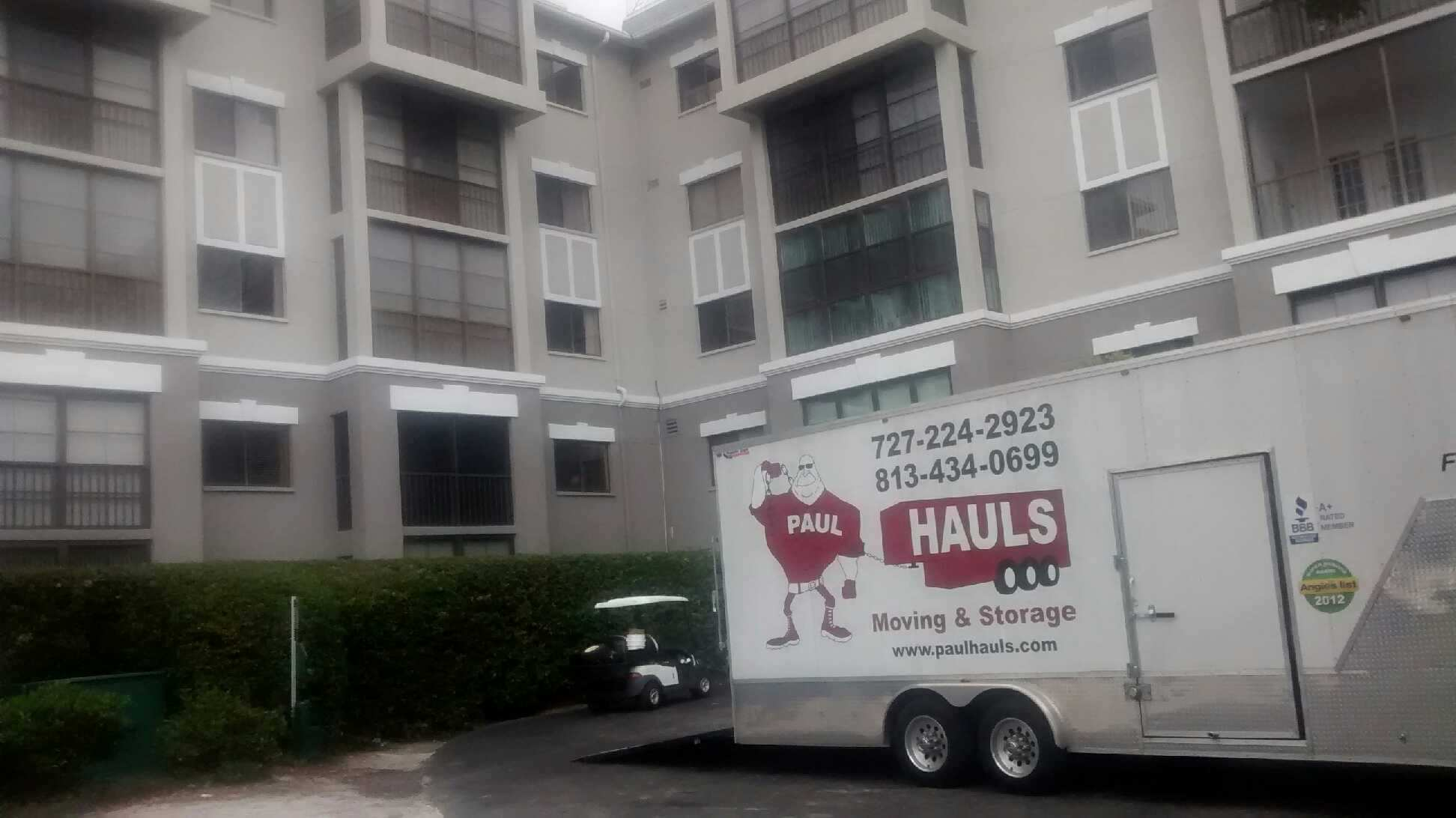 Mover In Westchase Paulhauls Moving And Storage   Year Of ...