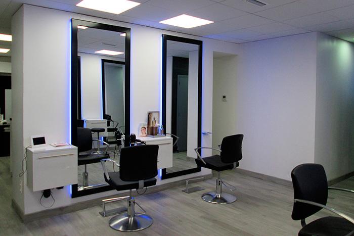Meubles salon de coiffure  bniste Menuisier Paulhe et Fils  Toulouse  Rodez