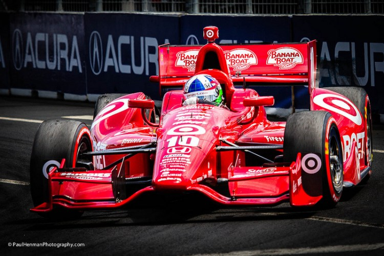 Dario Franchitti (Turn 3, race day)