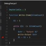 PowerShell - Debug From Visual Studio