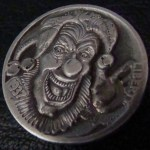 'Joker's Wild' Hobo nickel 1c