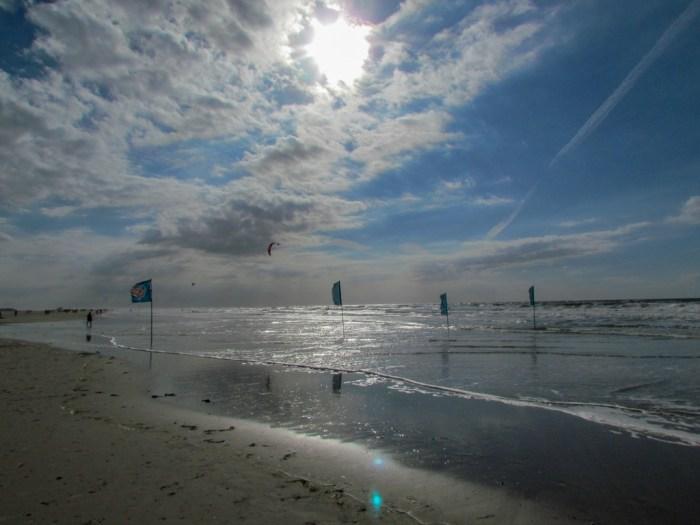 Sonne, Wind, Strand und Meer - schön!