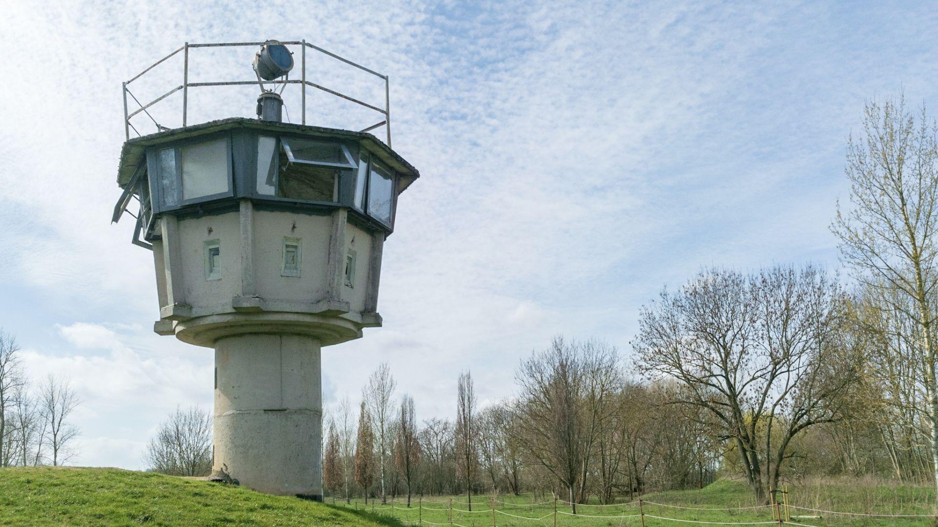 Kleiner DDR-Grenzturm