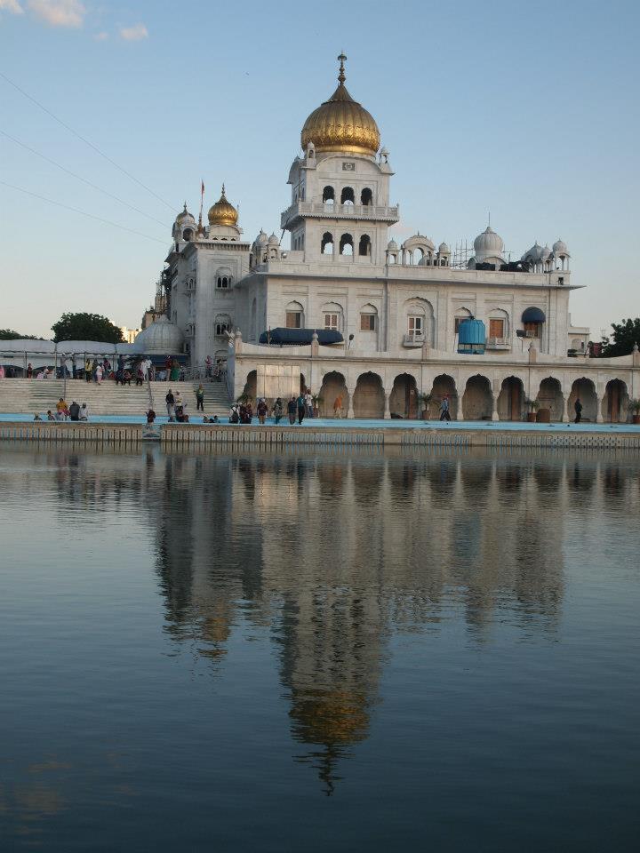 Templo Gurdwara Bangla Sahib de Delhi
