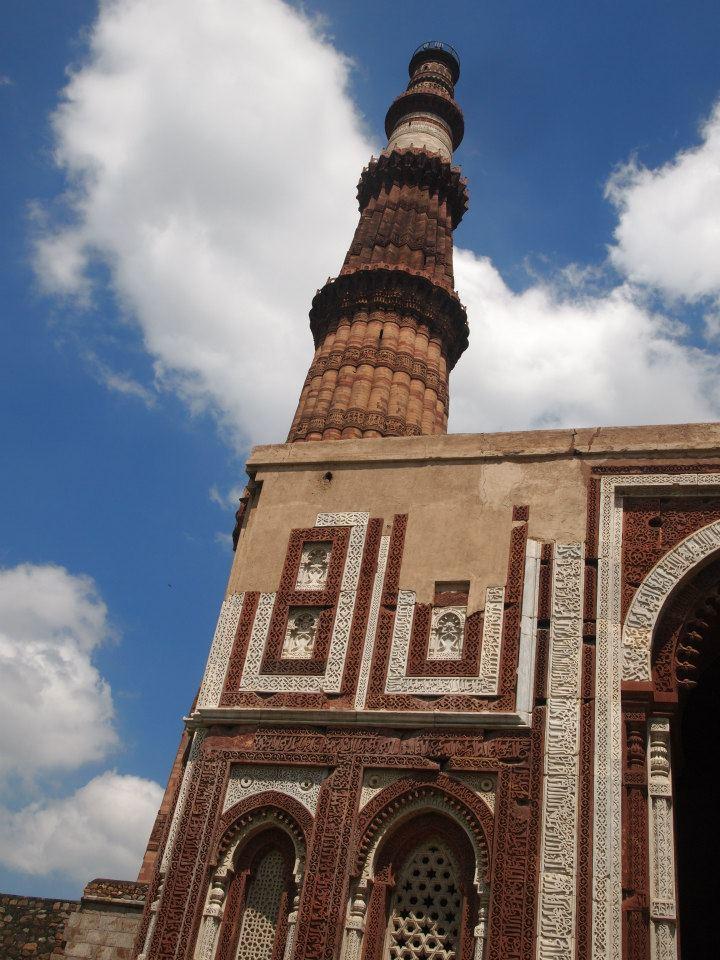 Minarete de Qutub de Delhi