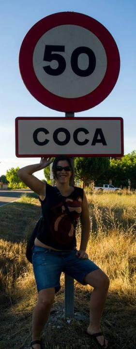 Yo bajo el cartel de Coca