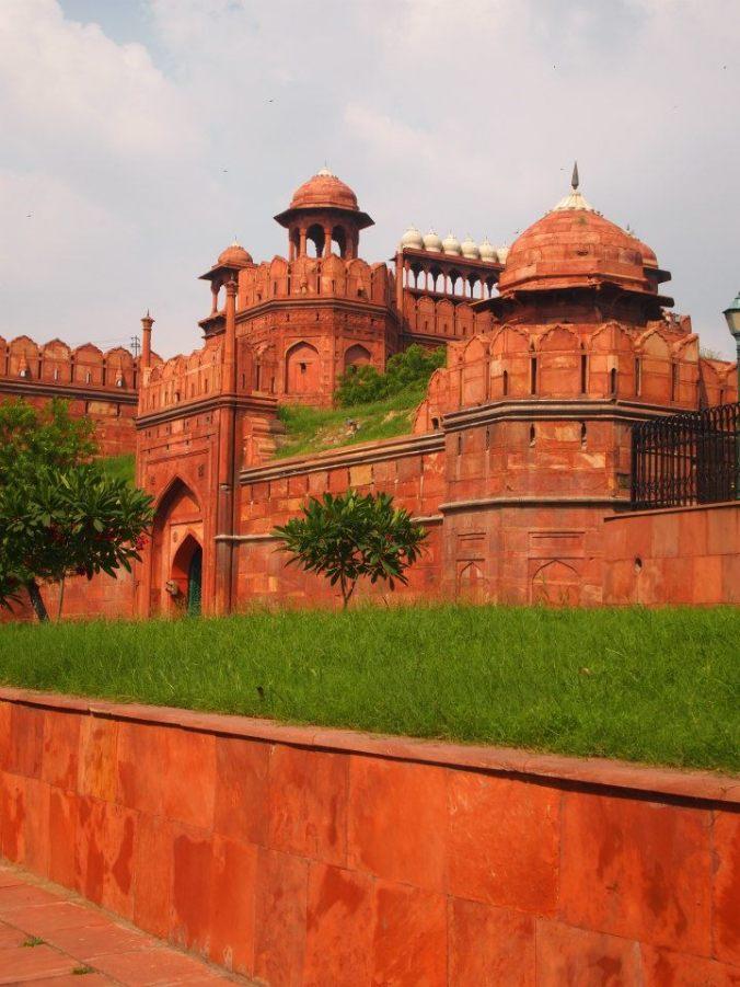 Entrada del Fuerte Rojo de Delhi