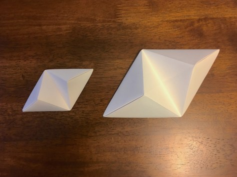 8- two sized triangles