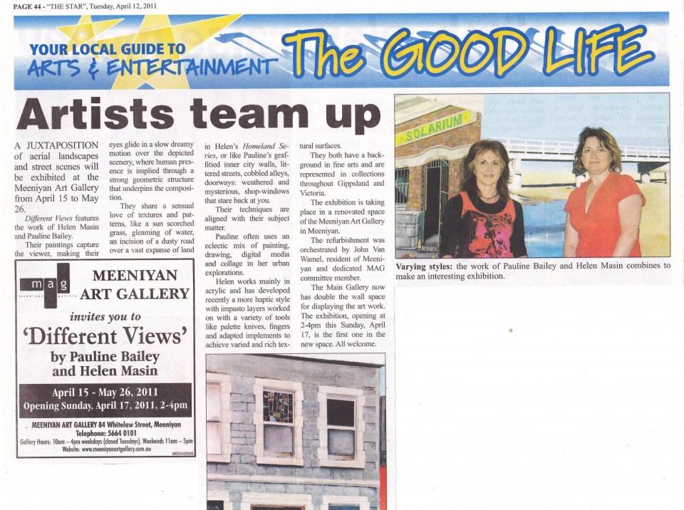 Meeniyan Star April 2011