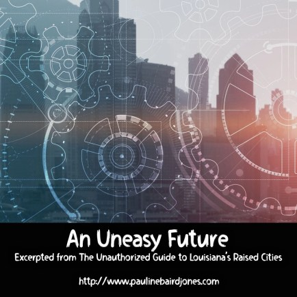 An Uneasy future graphic