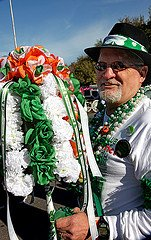 St. Patricks day parade in New Orleans