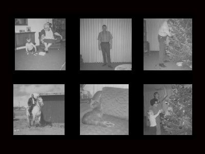 six old photos