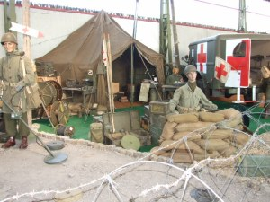 WWi exhibit, Hatten