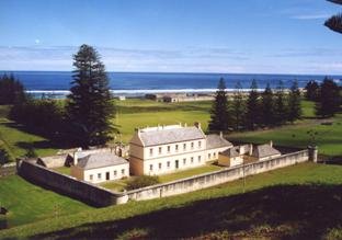 Convict ruins on Norfolk Island