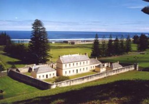 Convict ruins on Norfolk Island