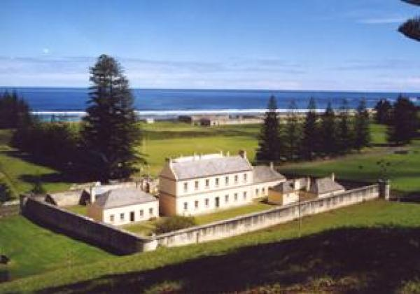 Solomon was transported to Norfolk Island.