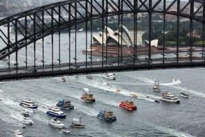 Sydney Harbour Ferrython