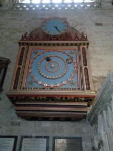 15thC  astronomical clock, Exeter Cathedral