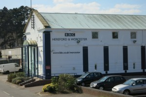 Venue for  BBC Radio Worcester interview about The Water Doctor's Daughters.
