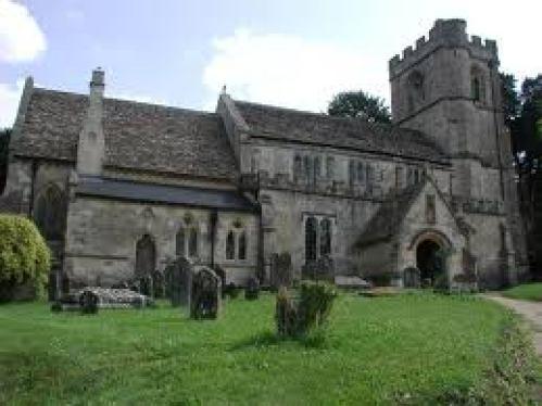 The church at Compton Bassett