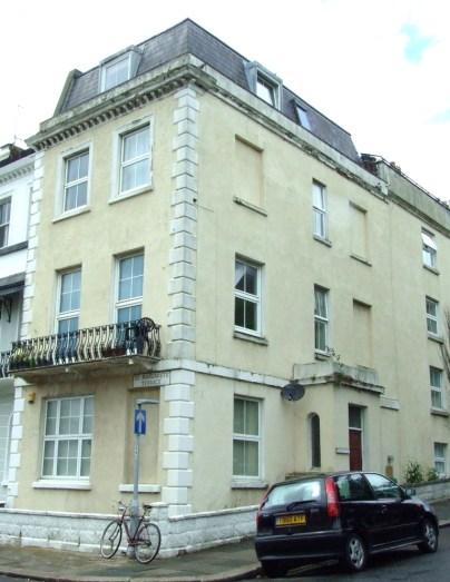 No. 1 St Margaret's Terrace, St Leonards - where Rosa Marsden died from Belladonna liniment poisoning in 1877.