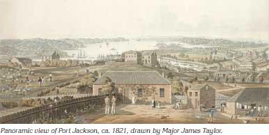 Port Jackson 1821