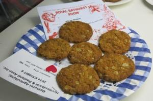 1o out of 10 for these iconic ANZAC biscuits.