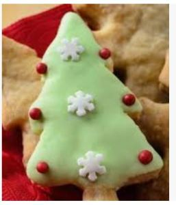Christmas biscuits.
