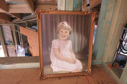 Pauline Conolly, aged three.