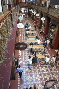 The beautiful Strand Arcade, our answer to London's Burlington!!
