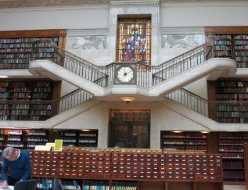 The historic Reading Room at the Mitchell Library in Sydney.