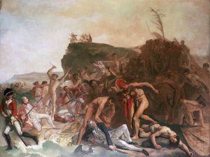 The Death of Captain Cook (Wikipedia)